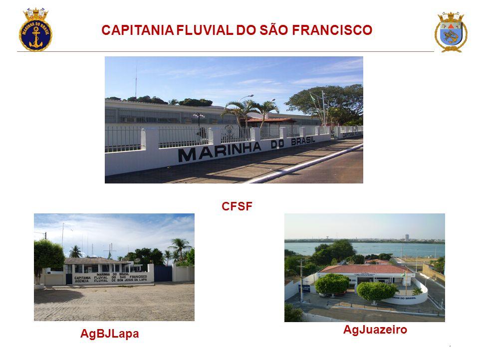 CAPITANIA FLUVIAL DO SÃO FRANCISCO