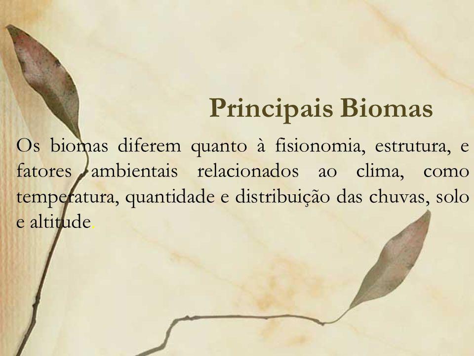 Principais Biomas