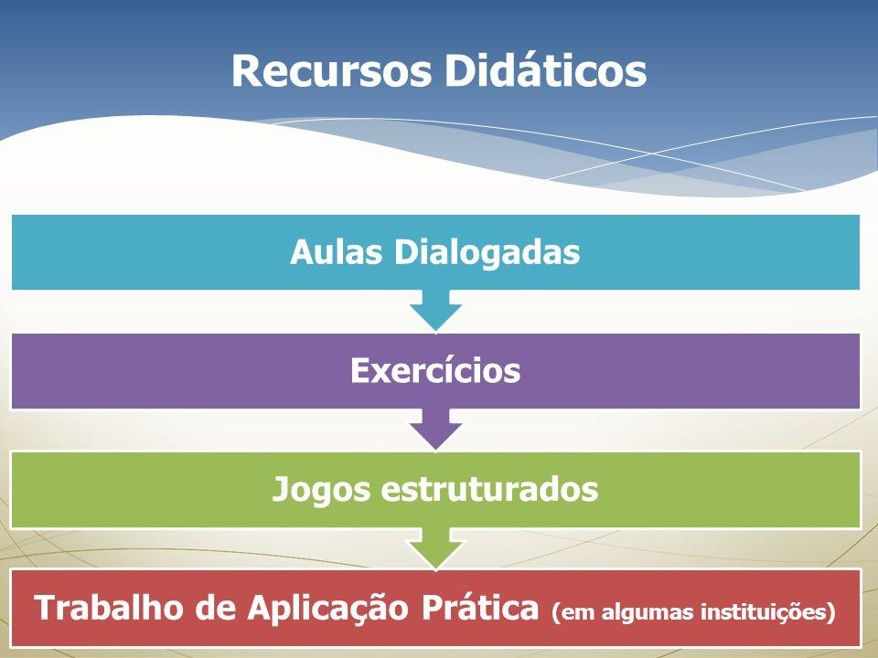 Trabalho de Aplicação Prática (em algumas instituições)
