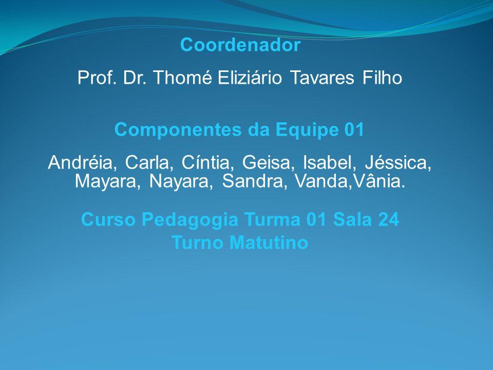 Curso Pedagogia Turma 01 Sala 24