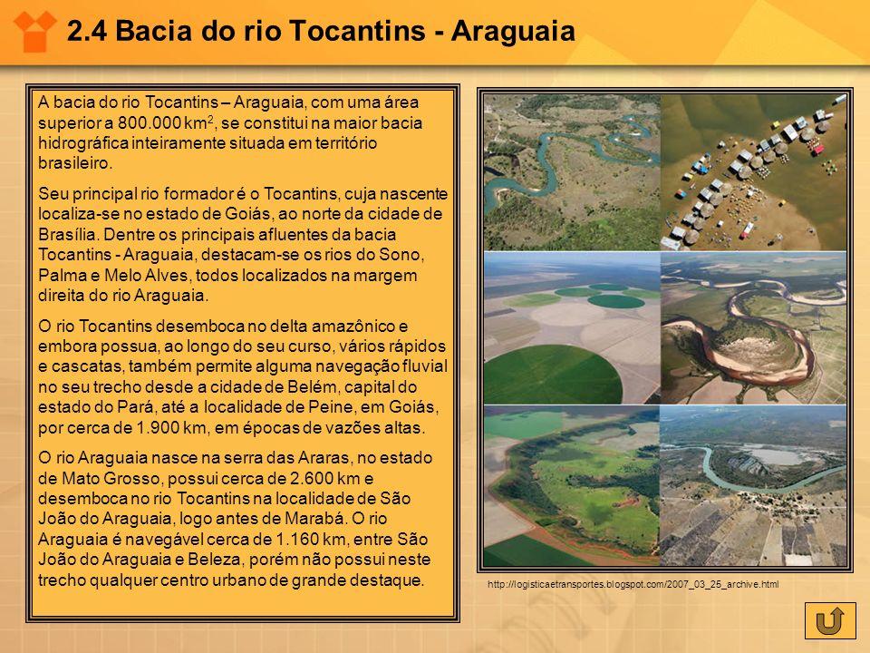 2.4 Bacia do rio Tocantins - Araguaia