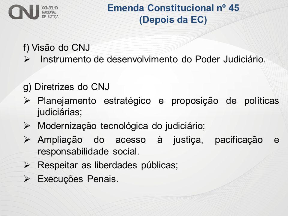 Emenda Constitucional nº 45 (Depois da EC)