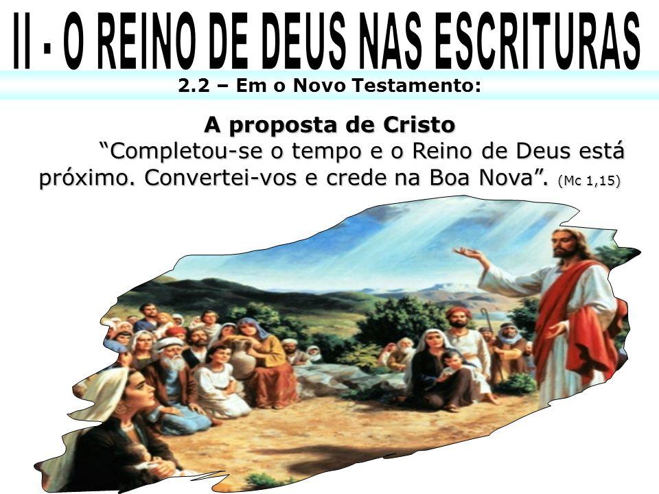 II - O REINO DE DEUS NAS ESCRITURAS