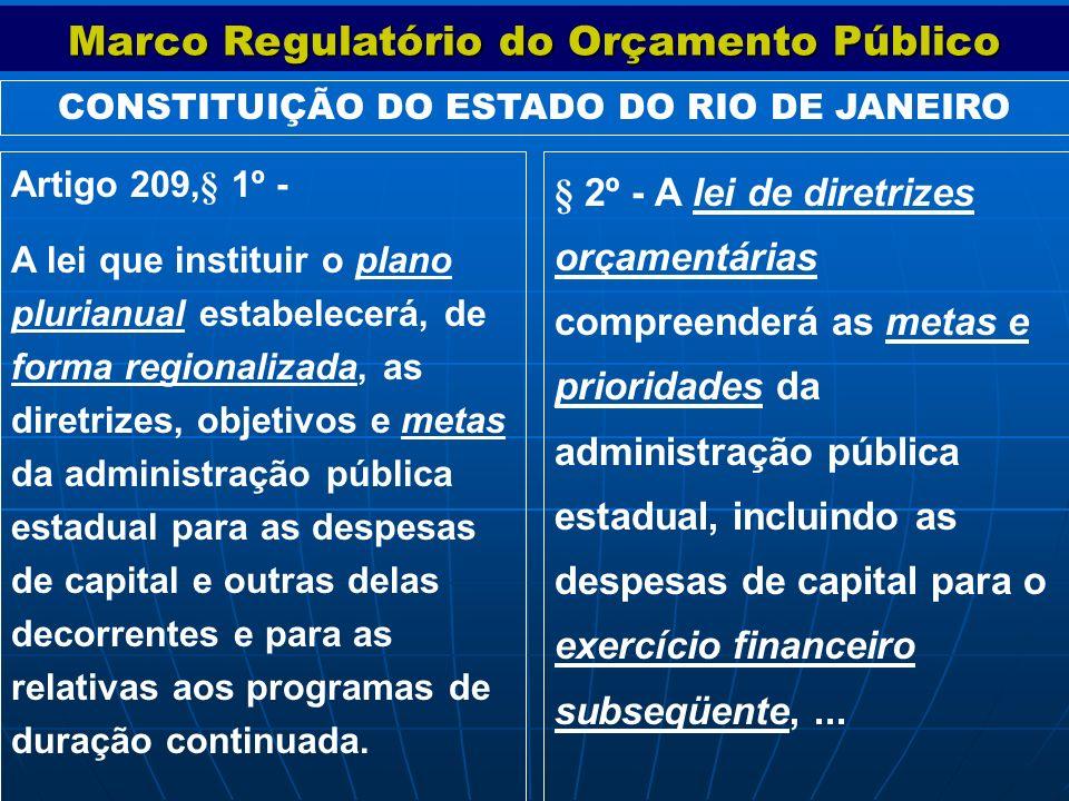 Marco Regulatório do Orçamento Público