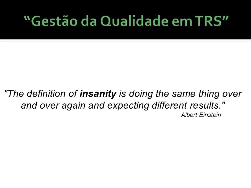 Gestão da Qualidade em TRS