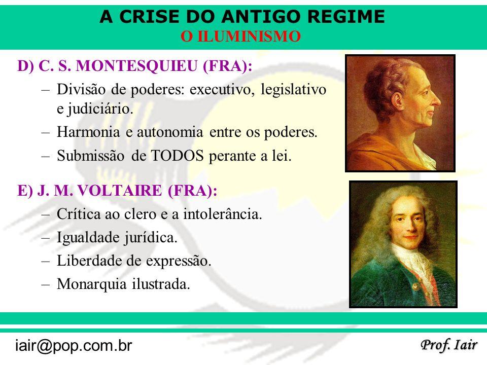 D) C. S. MONTESQUIEU (FRA):