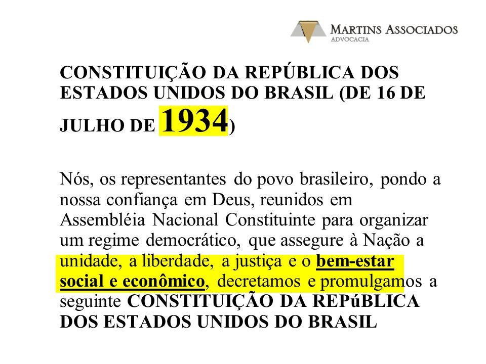 CONSTITUIÇÃO DA REPÚBLICA DOS ESTADOS UNIDOS DO BRASIL (DE 16 DE JULHO DE 1934)
