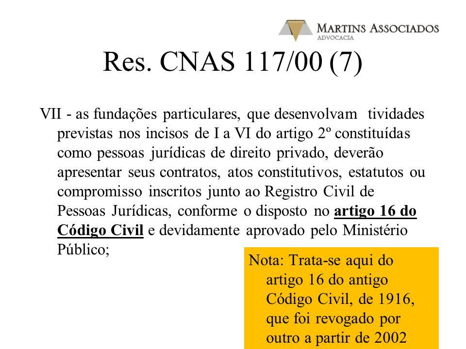 Res. CNAS 117/00 (7)