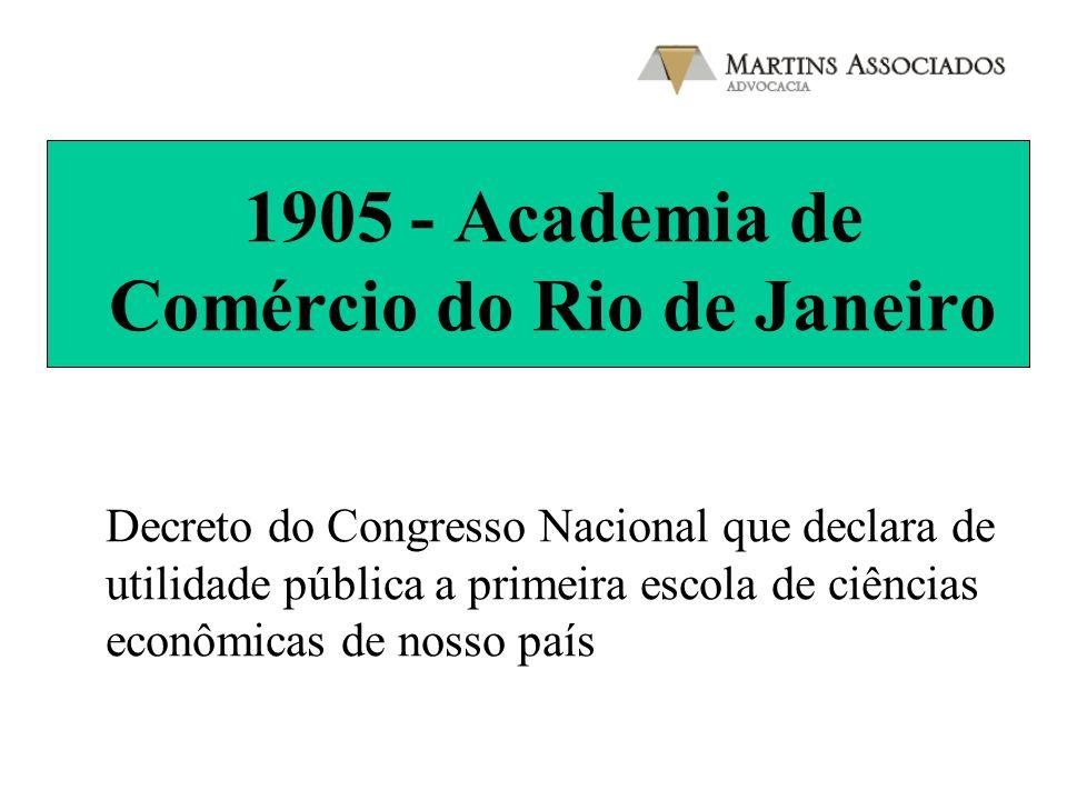 1905 - Academia de Comércio do Rio de Janeiro