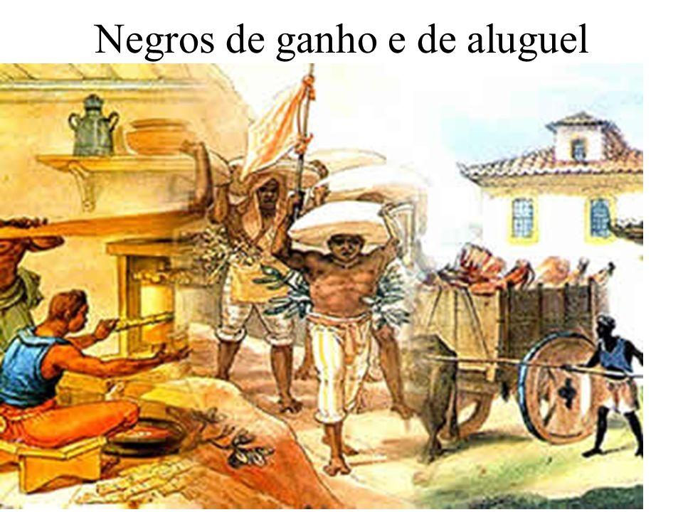 Negros de ganho e de aluguel