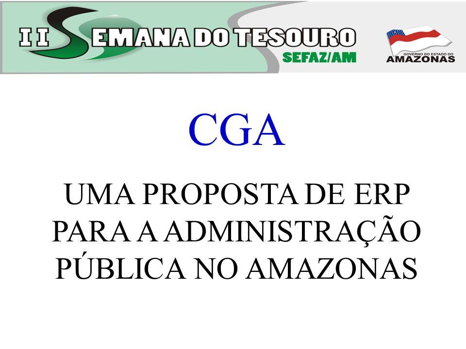 UMA PROPOSTA DE ERP PARA A ADMINISTRAÇÃO PÚBLICA NO AMAZONAS