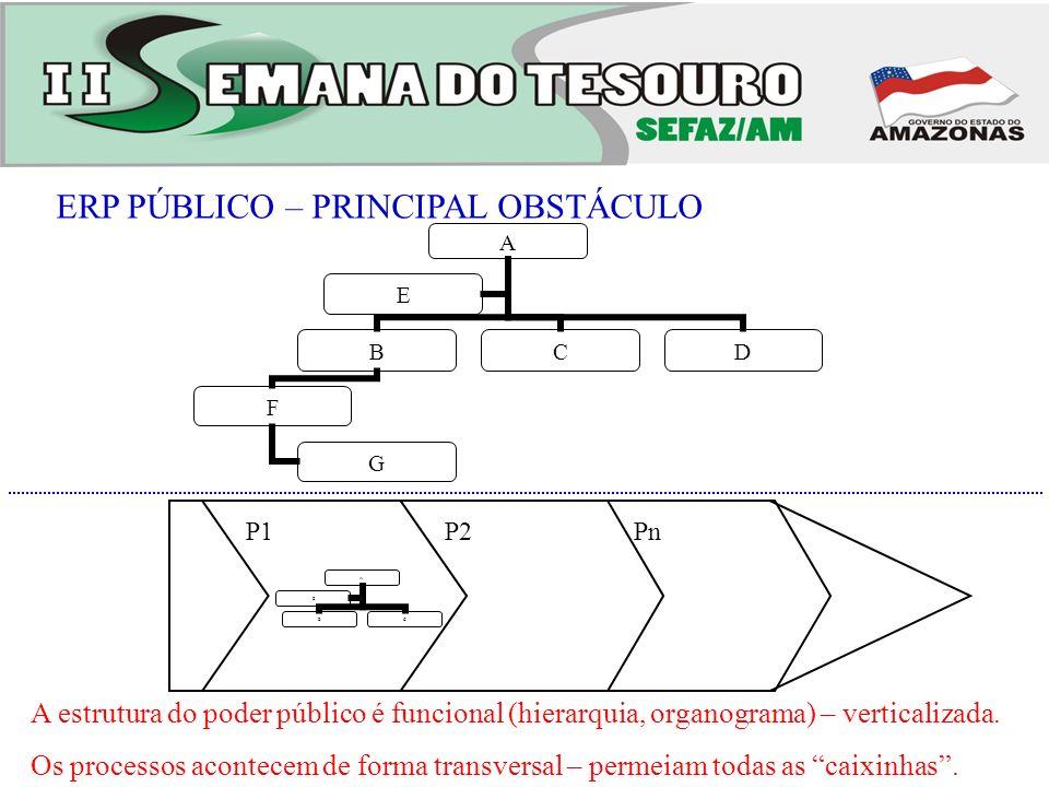 ERP PÚBLICO – PRINCIPAL OBSTÁCULO
