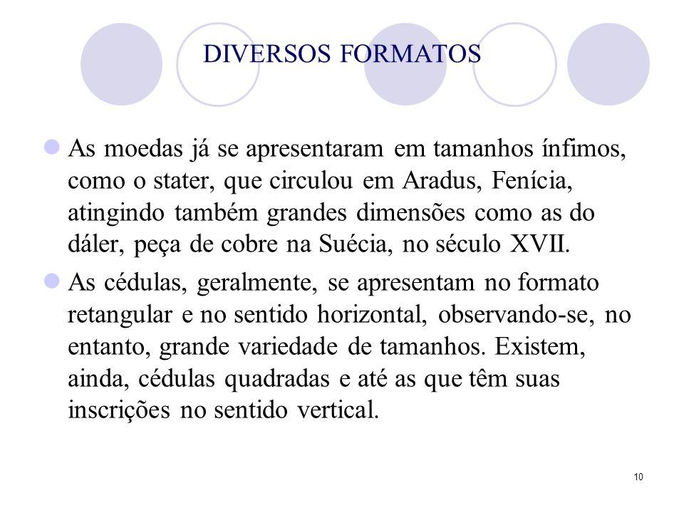 DIVERSOS FORMATOS