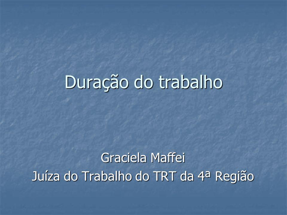 Graciela Maffei Juíza do Trabalho do TRT da 4ª Região