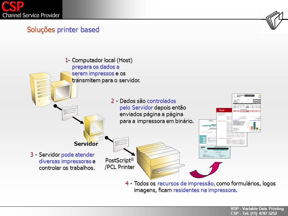 Soluções printer based