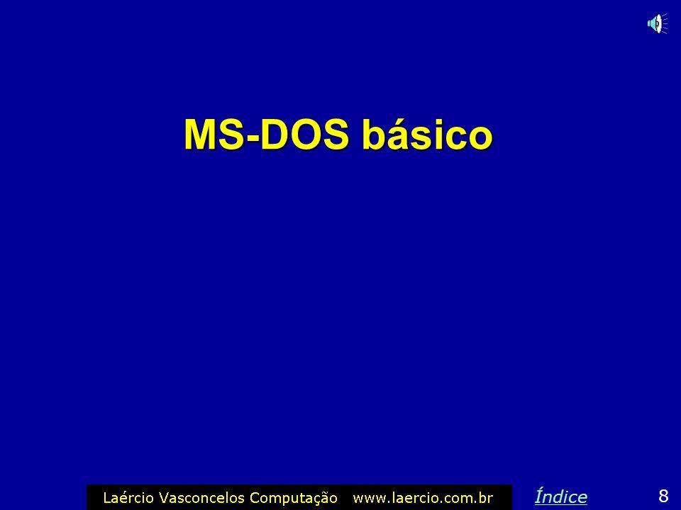 MS-DOS básico Índice 8