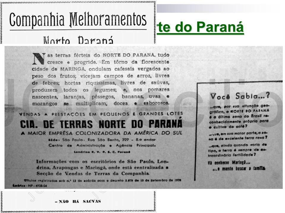 Ocupação do norte do Paraná