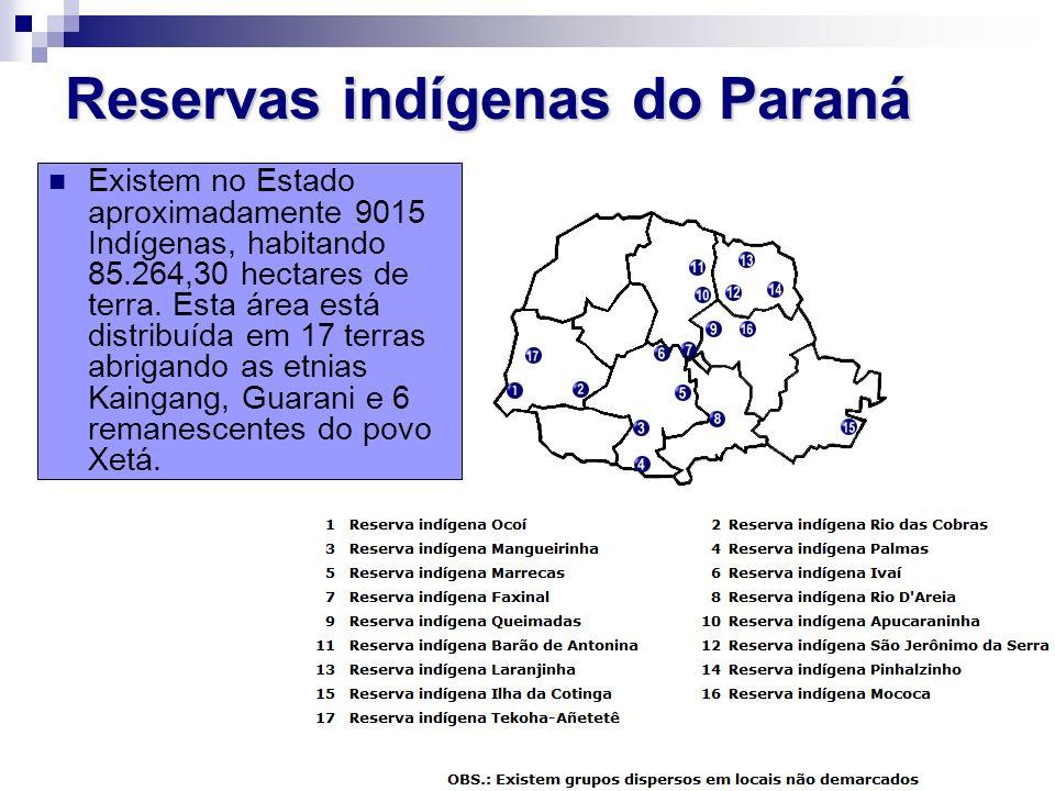 Reservas indígenas do Paraná