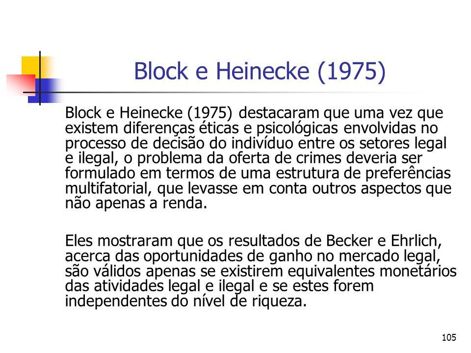 Block e Heinecke (1975)
