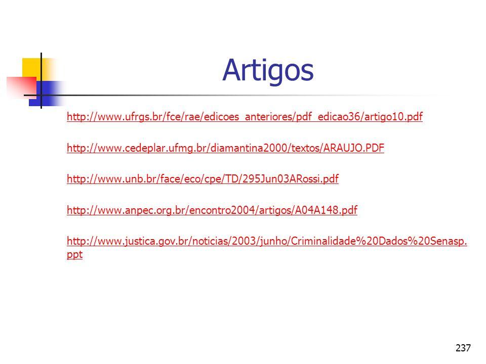 Artigos http://www.ufrgs.br/fce/rae/edicoes_anteriores/pdf_edicao36/artigo10.pdf. http://www.cedeplar.ufmg.br/diamantina2000/textos/ARAUJO.PDF.