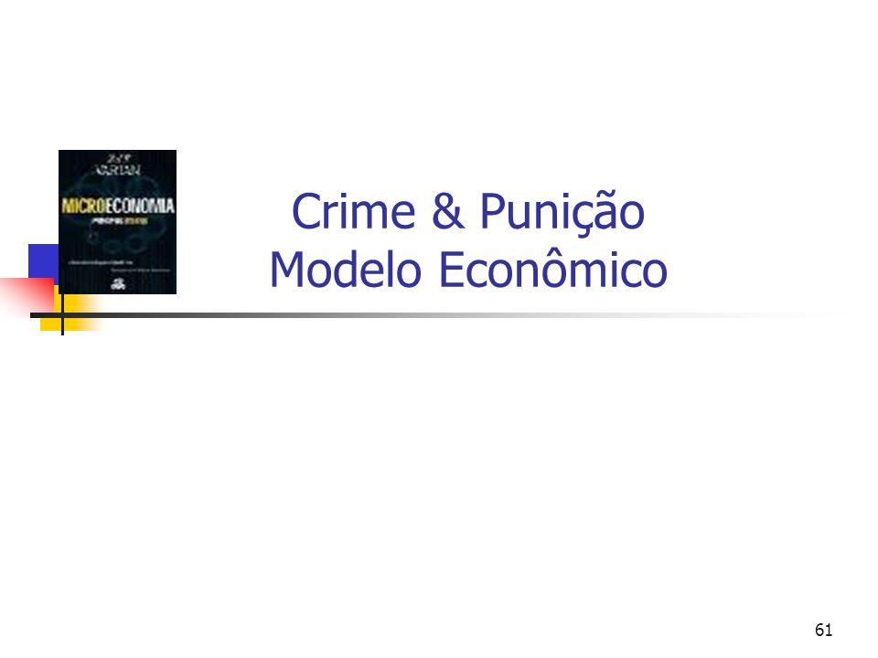 Crime & Punição Modelo Econômico