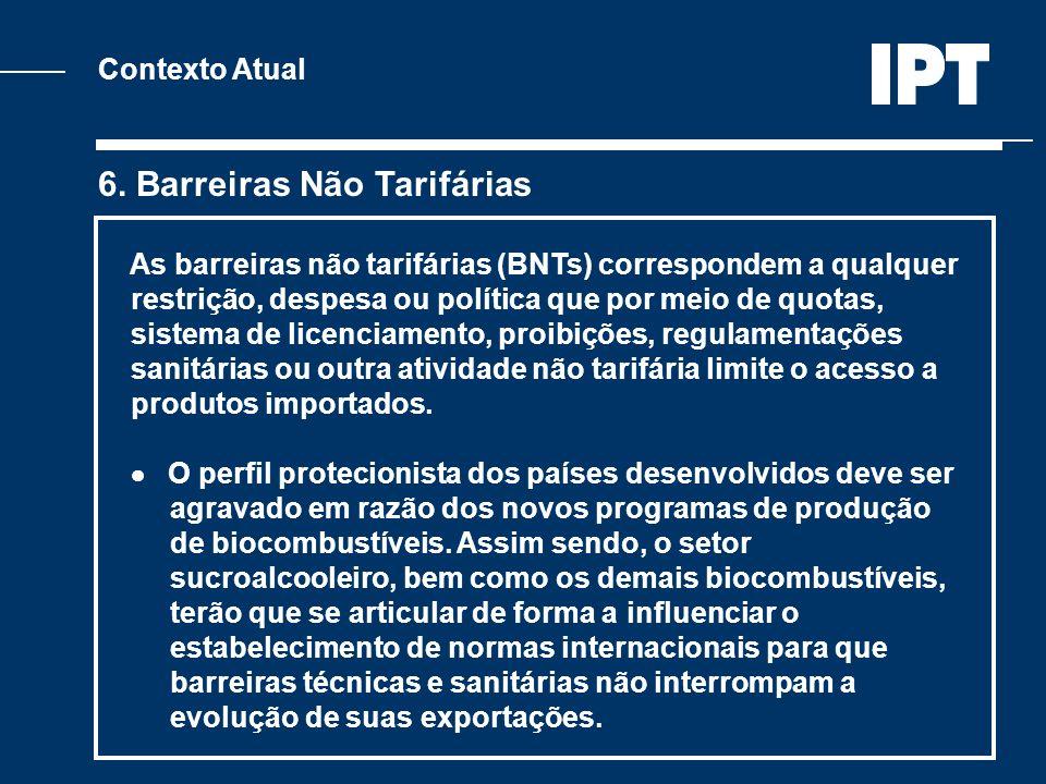 6. Barreiras Não Tarifárias