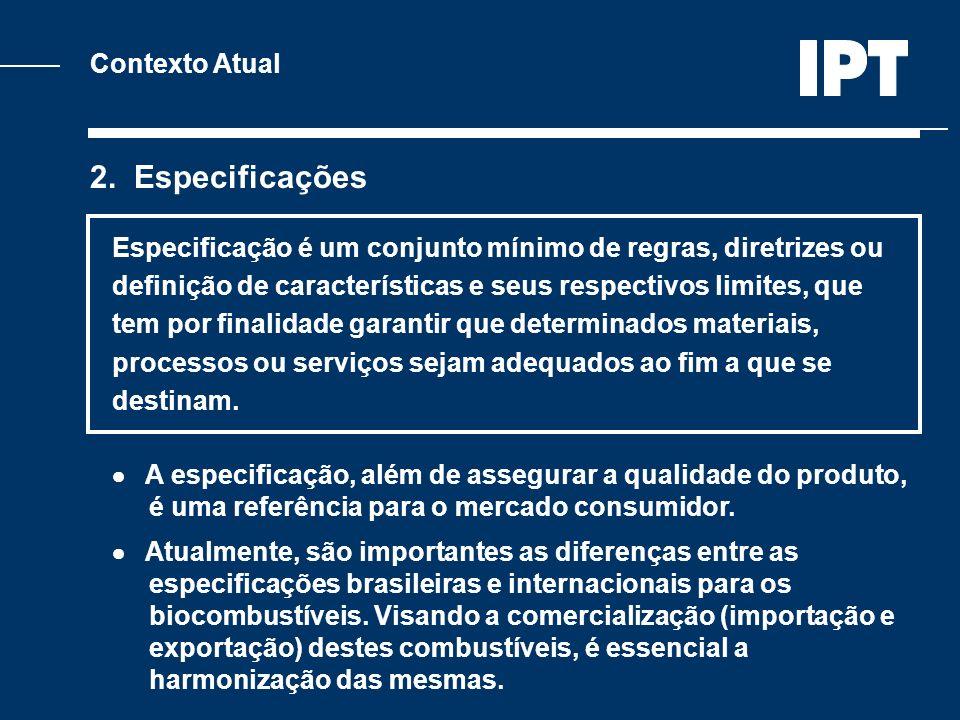 2. Especificações Contexto Atual