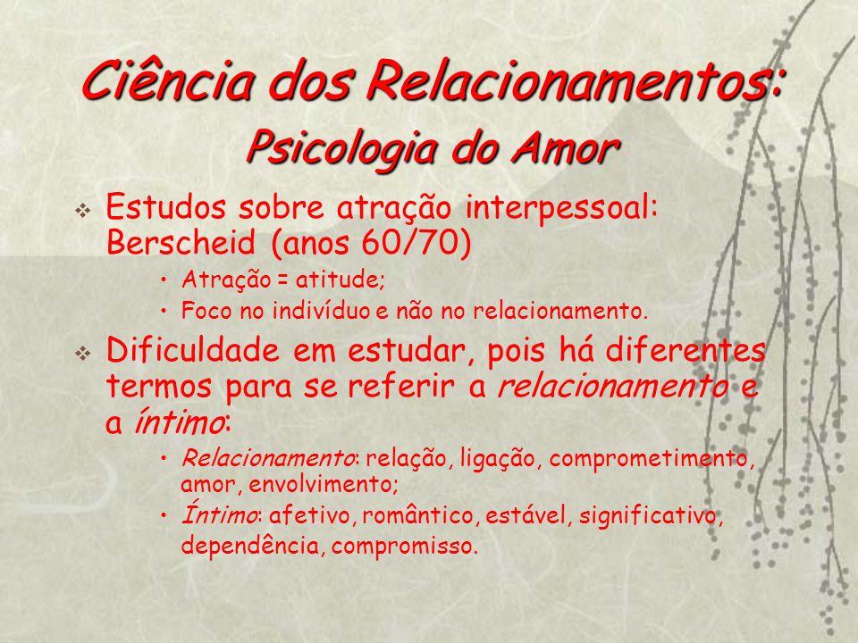 Ciência dos Relacionamentos: Psicologia do Amor