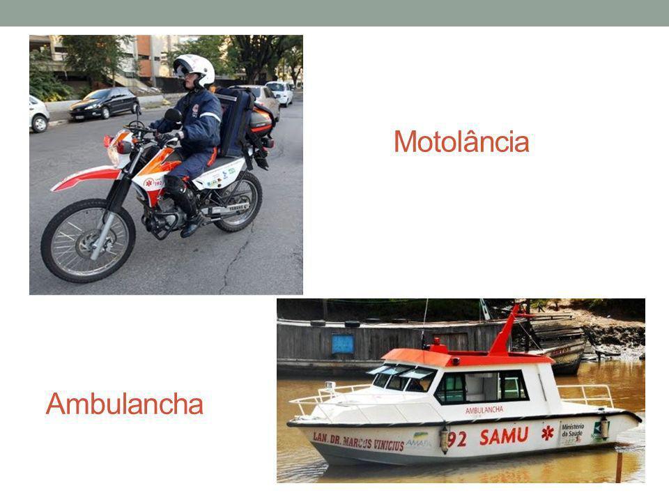 Motolância Ambulancha
