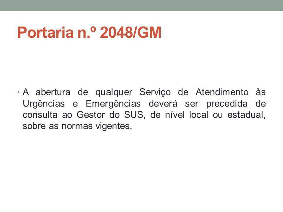 Portaria n.º 2048/GM