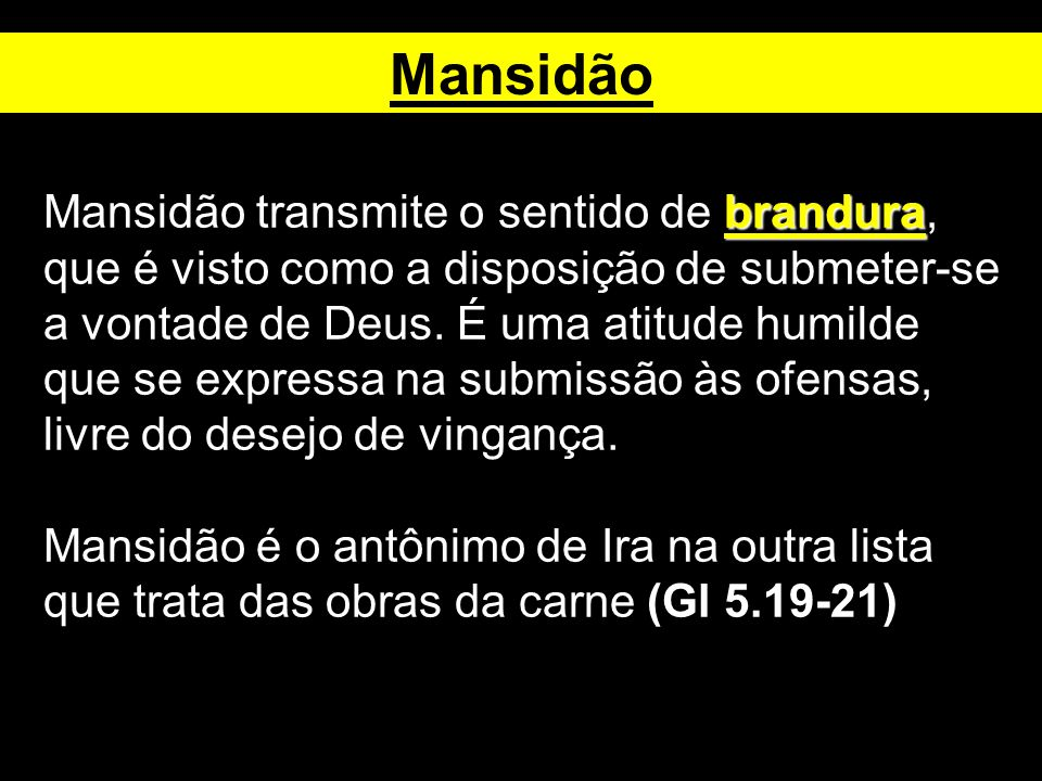 Mansidão