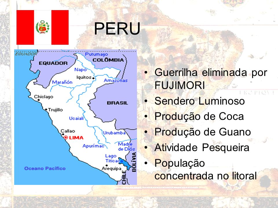 PERU Guerrilha eliminada por FUJIMORI Sendero Luminoso