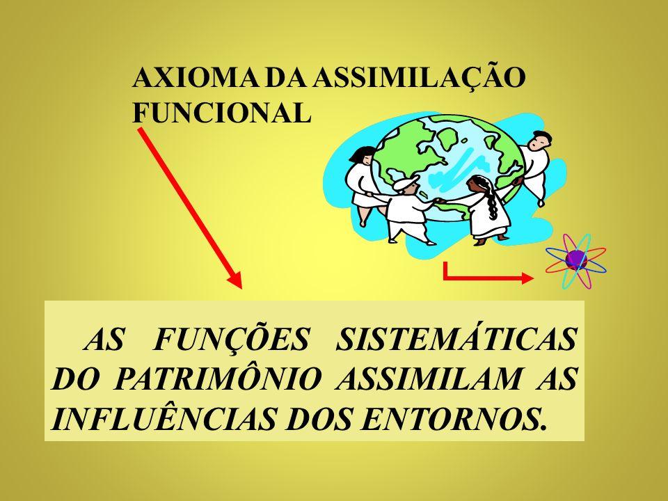 AXIOMA DA ASSIMILAÇÃO FUNCIONAL
