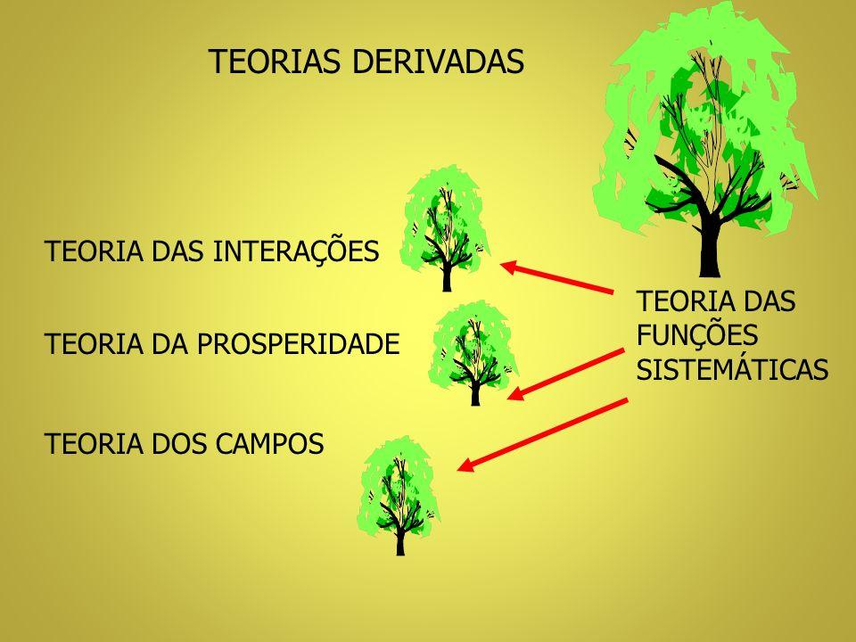 TEORIAS DERIVADAS TEORIA DAS INTERAÇÕES