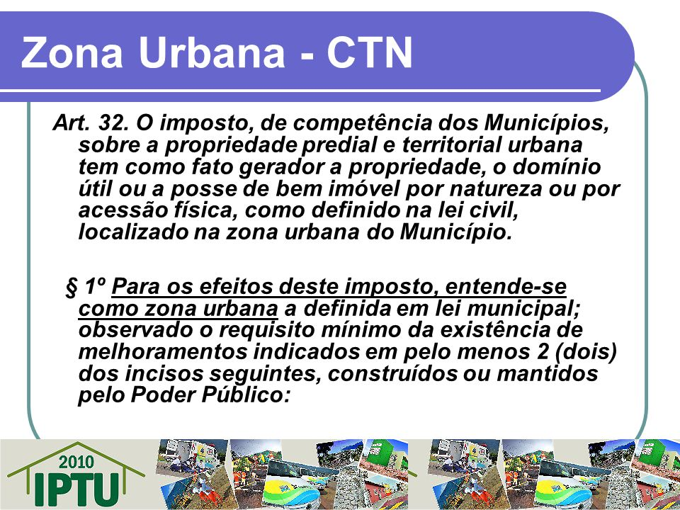 Zona Urbana - CTN