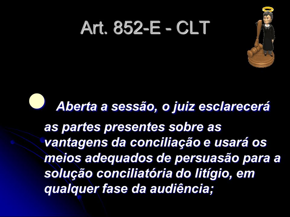 Art. 852-E - CLT