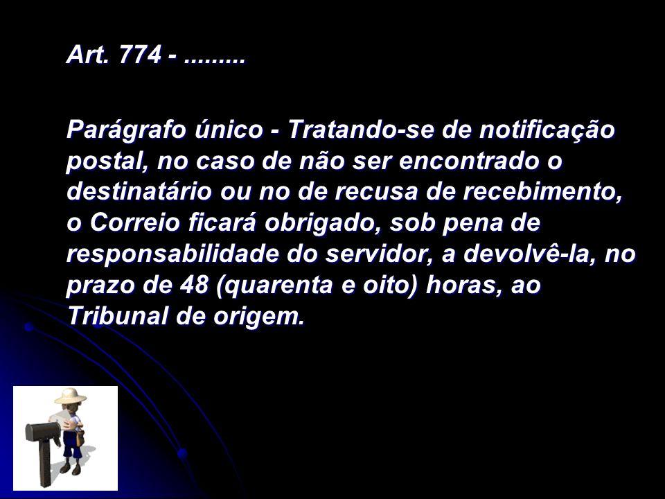 Art. 774 - .........