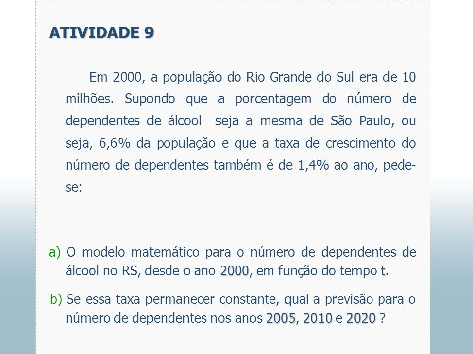 ATIVIDADE 9