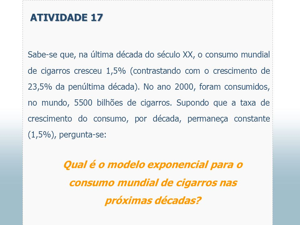 ATIVIDADE 17