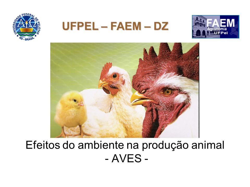 Efeitos do ambiente na produção animal - AVES -