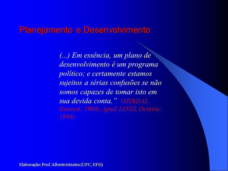 Planejamento e Desenvolvimento