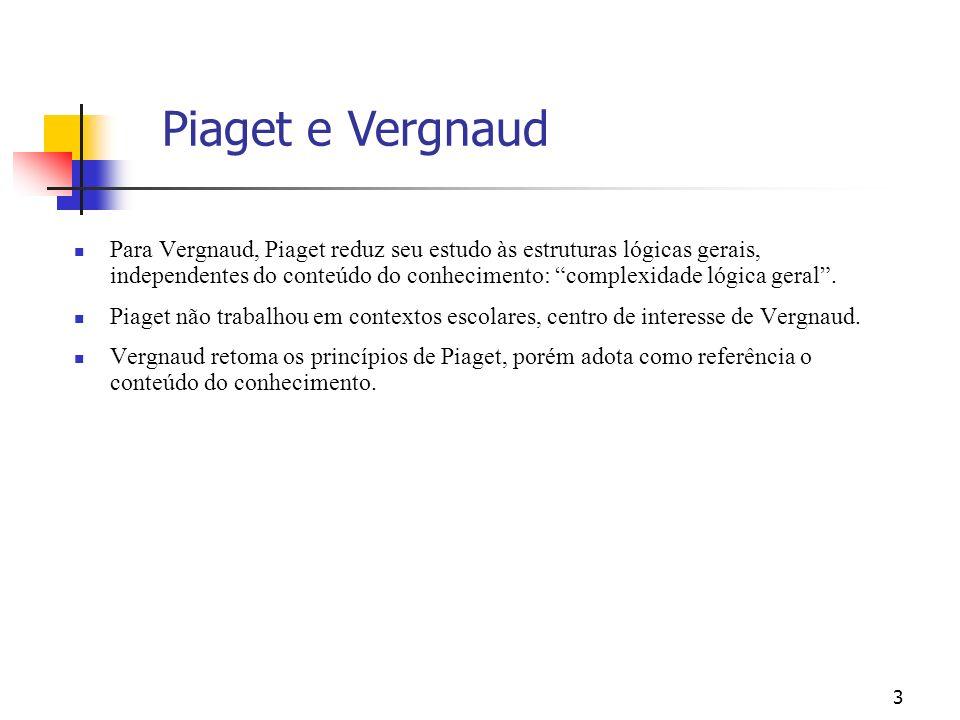 Piaget e Vergnaud