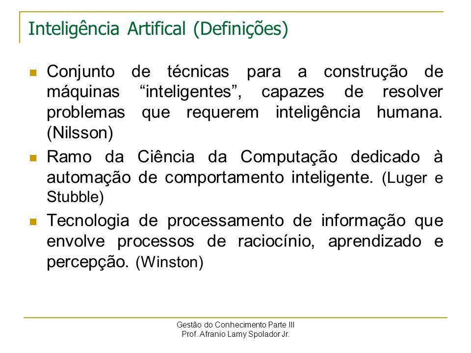 Inteligência Artifical (Definições)