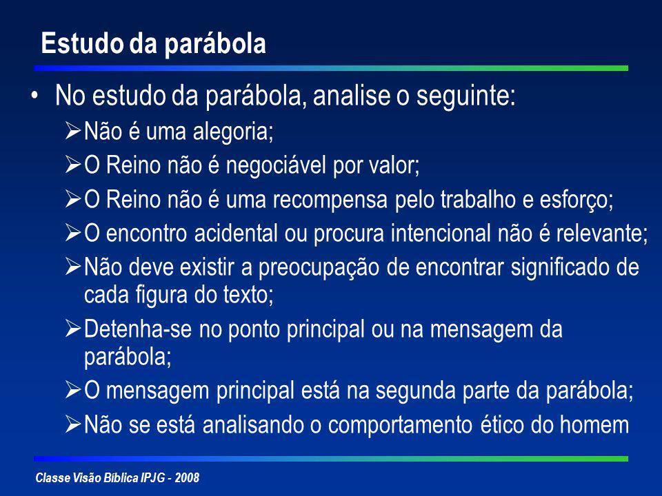 No estudo da parábola, analise o seguinte: