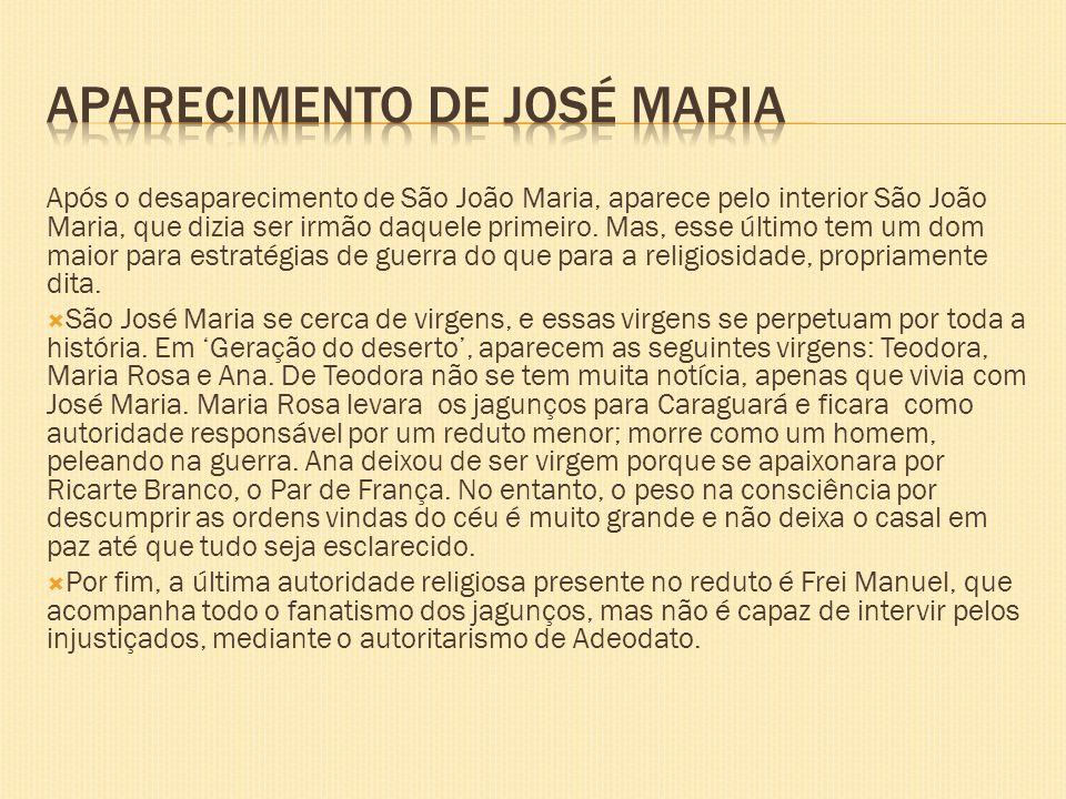 Aparecimento de José Maria