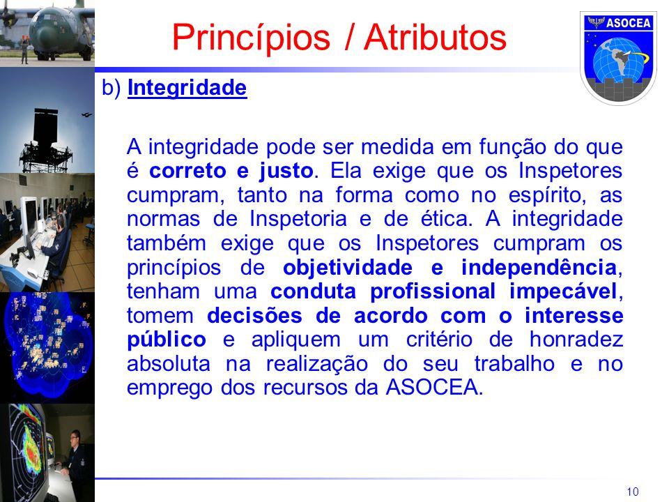 Princípios / Atributos