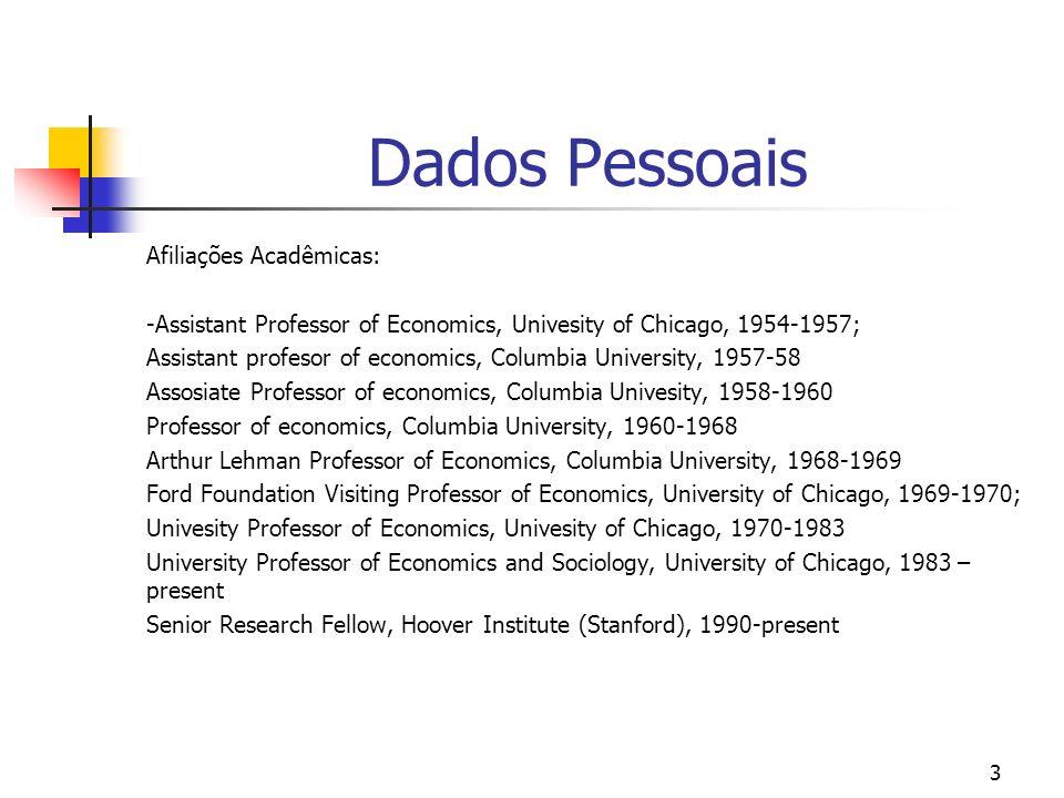 Dados Pessoais Afiliações Acadêmicas: