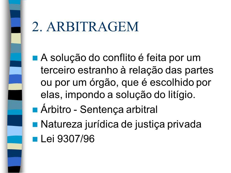 2. ARBITRAGEM