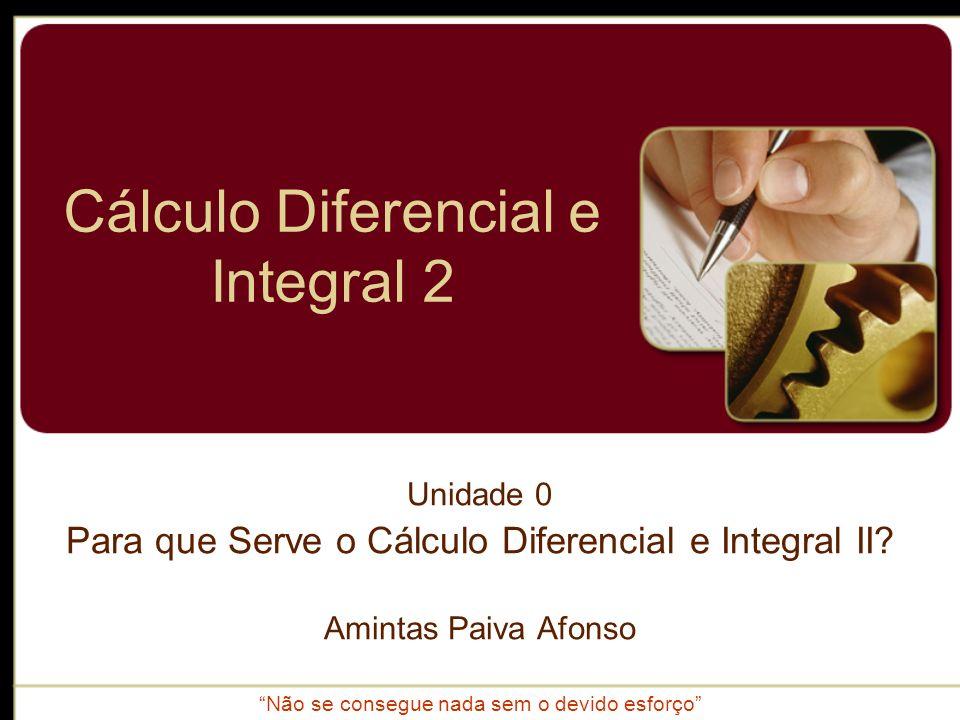 Cálculo Diferencial e Integral 2