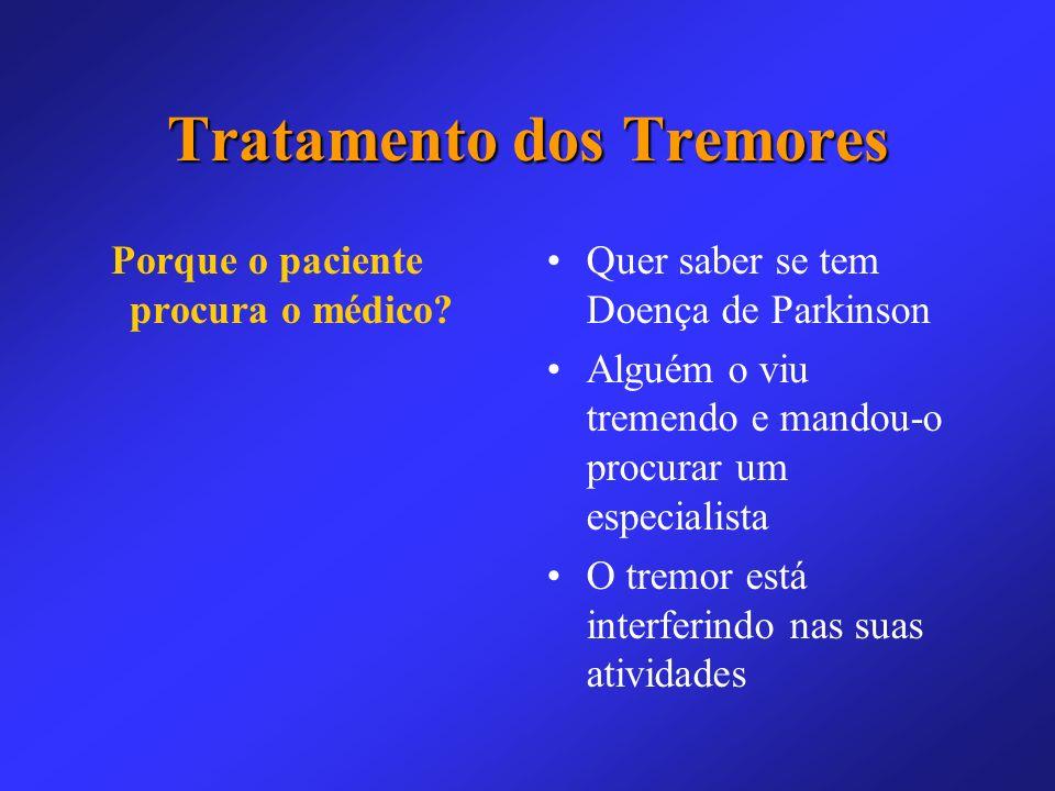 Tratamento dos Tremores